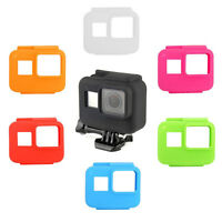 For Gopro Hero 5 6 7 Side Frame Soft Silicone Protective Housing Case Free ship