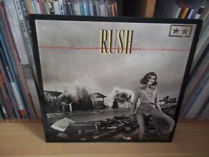 RUSH Permanent Waves UK 1980 MERCURY original LP with PIC / LYRIC INNER
