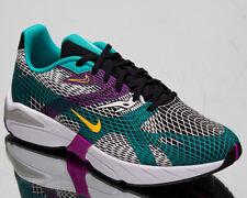 Nike Ghoswift Men's Black Orange Hyper Jade Casual Low Lifestyle Sneakers Shoes