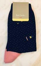Paul Smith Women Sock Made In Italy Lurex Broge Blue
