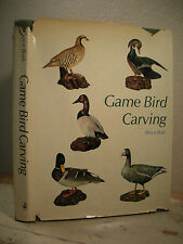 GAME BIRD CARVING Bruce Burk Winchester Press How-To Photos Line Drawings 1972
