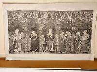 sehr altes Bild Jakusai Rokkaku. 15. Jahrhundert Japan Nippon Art