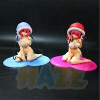 Anime SUPER SONICO Swimwear Ver. PVC Figure Model Gift Cake Decor 15cm New