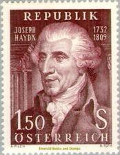 EBS Austria Österreich 1959 Joseph Haydn, composer ANK 1083 MNH**
