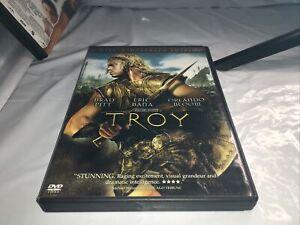 "Troy DVD, ""Preowned"", Brad Pitt, Eric Bana, Orlando Bloom"