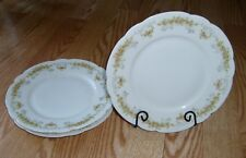 VTG Set of 3 Theodore Haviland Limoges France CZARINA SALAD / DESSERT PLATES 8""