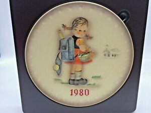 Hummel 1980 Annual Plate 1980 In Box