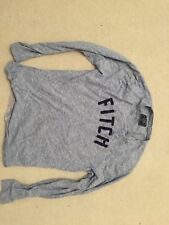 Mens Abercrombie & Fitch Blue Long Sleeve T Shirt Size M