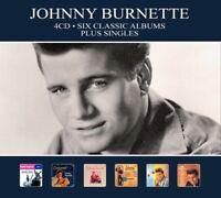 JOHNNY BURNETTE - SIX CLASSIC..-DIGI-  4 CD NEUF