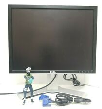 """DELL 20"""" 2007FPb LCD Monitor WITH STAND + VGA + Power cables VG Condition"""