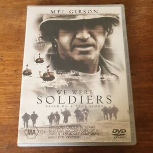 We Were Soldiers DVD R4 Like New! FREE POST