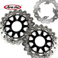 For Honda VTR SP1 RC51 1000 2000 2001 Arashi Front Rear Brake Disc Rotors Set