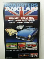 Roadsters anglais : Triumph, Austin-Healey, MG - video VHS - As new