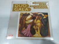 """Duo Gala 20 Canciones de Die Revolucion Mejocana Ed España - LP 12 """" Vinyl nuevo"""