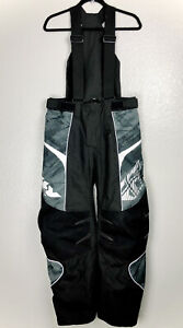 Fly Racing SNX Pro Snowmobile Pants Size Small With Suspenders Snow Winter Ride