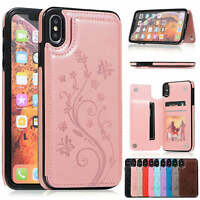 Case Cover For iPhone 11 Pro XS Max XR X 8 7 6Plus Magnetic Leather Wallet Phone