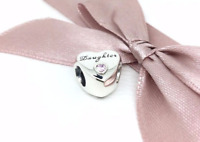 Genuine Pandora Daughter Love Heart Charm Brand New 🥀 Free Gift Pouch 🥀