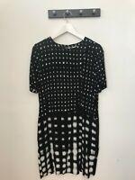 Whistles Ladies Black / White Dress UK Size 10