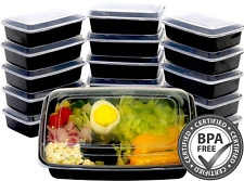 16 Fitpacker Meal Prep Containers Food Storage Plastic Reusable Microwavable NEW