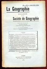 GEOGRAPHIE - GASCOGNE (CARTE) SUEDE - NATAL BOERS