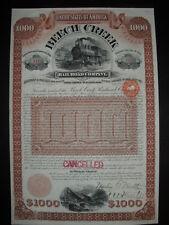 Beech Creek Rairoad Company  1892