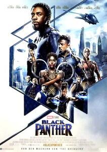 Marvel BLACK PANTHER original Kino Plakat A1 gerollt 2018 Avengers