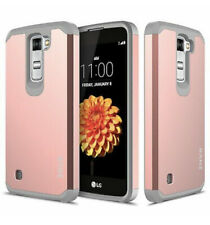 For LG K7/ Tribute 5 Case, Hard Impact Dual Layer Shockproof Bumper Case