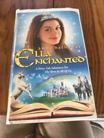 Ella Enchanted (VHS) Ships N 24h