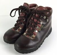Vintage Vasque 7536 Skywalk Gore-Tex Brown Hiking Boots Womens Size: 5 M - ITALY