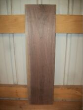 "1 PC  WALNUT LUMBER WOOD KILN DRIED BOARD 7/8"" THICK LOT 192W CLEAR"