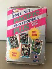 1991 PACIFIC NFL PRO FOOTBALL PLUS WAX BOX (36 PACKS).