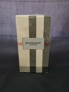 Burberry London Fabric Eau De Parfum 3.3 oz / 100 ml Natural Spray NIB ,Sealed.