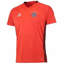Maillots de football de clubs allemands rouge manches courtes