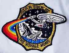 "Star Trek IV Voyage Home Movie Logo 4.5"" Patch- Lincoln Ent-FREE S&H (STPAL-016)"
