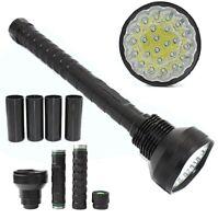 24 x XM-L T6 CREE LED FLASHLIGHT HIGH INTENSITY TORCH