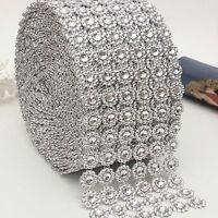 1 Metre Sunflower Diamante Rhinestone Sparkling Diamond Effect Wedding Cake Trim
