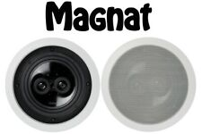 2 X BRAND NEW MAGNAT INTERIOR ICP 262 MONO STEREO WALL CEILING SPEAKERS RRP £270