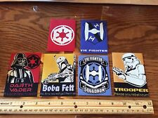Disney Star Wars Fabric Iron On Appliques style #7 Darth Vader Glow in the dark!