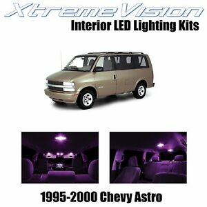 XtremeVision Interior LED for Chevy Astro 1995-2000 (11 PCS) Pink