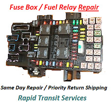 Ford Expedition Lincoln Navigator 2003 - 2006 Fuse Box / Fuel Pump Relay Repair
