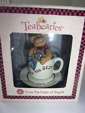 Boyds Teabearies You're The Best Figurine Nib