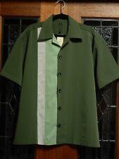 Men's 50's 60's Rockabilly Charlie Sheen Style Bowling / Sport Shirt