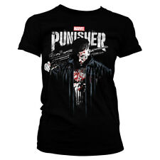 Officially Licensed Marvel's The Punisher Blood Women's T-Shirt S-XXL Sizes