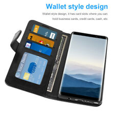 Magnetic Leather Flip Wallet Phone Case cover Stand For Samsung Galaxy Note 8