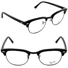 Ray Ban Clubmaster Eyeglasses RX5154 2077 49mm Matte Black/Demo Lens [49-21-140]
