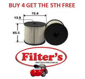 Fuel Filter CITROEN C5 ESTATE 2.0L 2.2L DW10BTED4 DW12ATED 2000 - 2004 BTP