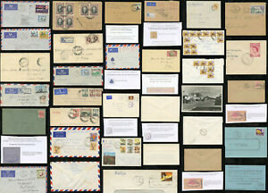 RHODESIA COVERS ENVELOPES 1934-80 GWELO Airs Machine Postmarks etc ..EACH PRICED