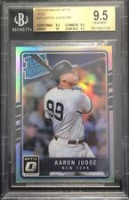 "2017 DONRUSS OPTIC ""HOLO"" #38 AARON JUDGE ROOKIE CARD BGS 9.5 GEM MINT💎Rare"
