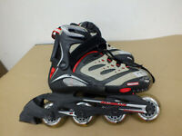 Rollerblade Micro blade XT Adjustable Rollerblades Youth Size 2 3 4 5  Black