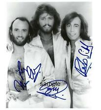 BEE GEES BAND REPRINT 8X10 AUTOGRAPHED SIGNED PHOTO PICTURE BARRY ROBIN GIBB RP